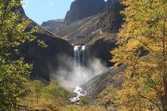 Changbai vattenfall Fotografering för Bildbyråer
