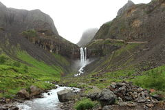 Changbai Waterfall Stock Photo