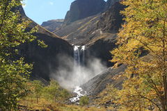Changbai Waterfall Stock Image