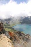 changbaishan озеро рая Стоковое Фото