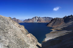 Changbaishan tianchi Royalty Free Stock Photography
