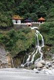 Changchun (Eternal Spring) Shrine at Taroko National Park Royalty Free Stock Image