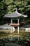 changdeok南韩国的宫殿 免版税图库摄影