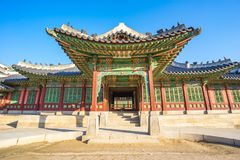 Changdeok gung Palace in Seoul, South Korea Royalty Free Stock Photography