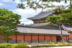 Changdeok pałac magistrala Hall zdjęcia stock