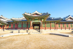 Changdeok Palace in Seoul, South Korea Royalty Free Stock Image