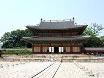 Changdeok Palace - South Korea. Injeongjeon Hall at Changdeok Palace in South Korea stock images