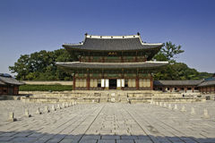 Changdeok Palace - South Korea Royalty Free Stock Images