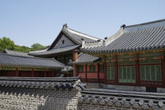 Changdeok palace, South Korea Royalty Free Stock Photography