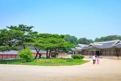 Changdeok Palast oder Changdeokgung am 17. Juni 2017 in den Sommermeeren Stockbild