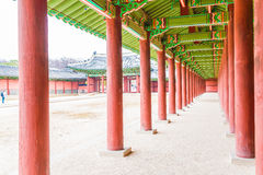 Changdeokgung Palace Beautiful Traditional Architecture in Seoul Stock Photography