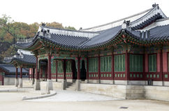 Changdeokgung palace buildings Korea Royalty Free Stock Photos