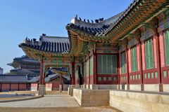 Changdeokgung Palace is the most well-preserved of royal Joseon palaces. Stock Photo
