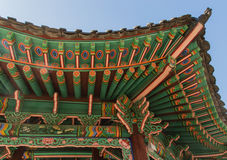 Changdeokgung palace roof Stock Photos