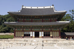 Changdeokgung palace, Seoul Royalty Free Stock Photography