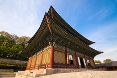 Changdeokgung Palace in Seoul, Korea Royalty Free Stock Photography