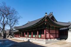 Changdeokgung Palace in Seoul, South Korea. Royalty Free Stock Photography