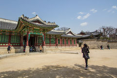 Changdeokgung Palace in South Korea stock image