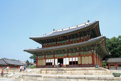 Changdeokgung in Seoul Royalty Free Stock Photo
