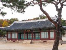 Changdeokgungs-Palast Stockbild