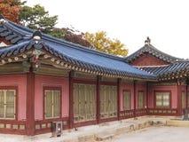 Changdeokgungs-Palast Stockfoto