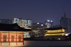 Changdeokgungs-Palast Stockfotografie
