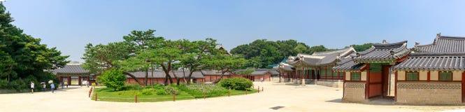 Changdeokgungs-Szene in Seoul-Stadt, Südkorea stockbilder