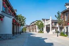 Changdongdu dekorował bramę Zdjęcia Stock