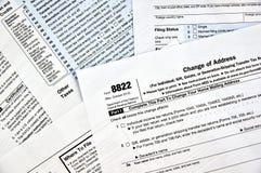 8822 change of address form Stock Photos