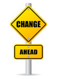 Change ahead Stock Images