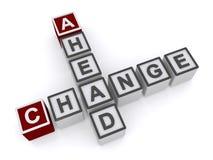 Change ahead Stock Photography