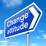 Change attitude concept. Stock Images