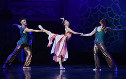 """Change about- ballet """"One Thousand and One Nights"""" Royalty Free Stock Photos"""