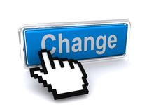 Change button Royalty Free Stock Images