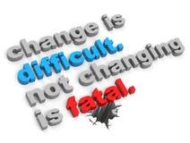 Change concept stock illustration