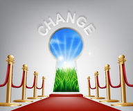 Change conceptual illustration Stock Image