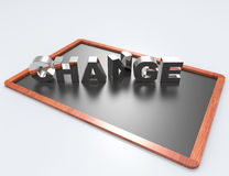 Change 3d word concept Royalty Free Stock Images