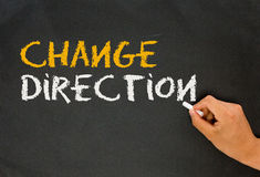 Change direction Royalty Free Stock Image