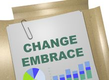 Change Embrace concept Stock Photo
