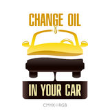 Change Engine Oil in Your Car Stock Images