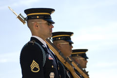 Change of the Guard in Arlington Cemetery. Washington D.C. 2007 Royalty Free Stock Image
