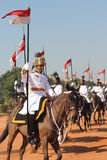 Change of Guard Ceremony - India President Palace Stock Photo