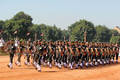 Change of Guard Ceremony at India President Palace Royalty Free Stock Image