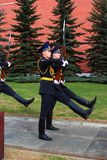 Change of the guard of honour, Moscow Stock Photography