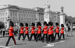 Change of Guard,London,England Royalty Free Stock Photo