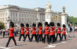 Change of the Guard, London stock images