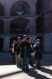 Change of the Guard re-enactment at the Presidio, Fort Point, Golden Gate National Recreation Area Royalty Free Stock Image