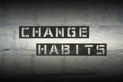 Change habits gr Stock Images