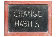 Change habits Stock Photos