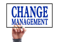 Change management Stock Image